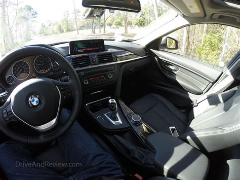 Interior Be by Getting With A 2015 Bmw 328i Driveandreview