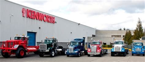 Kenworth S Renton Assembly Plant Celebrates 20 Years Of