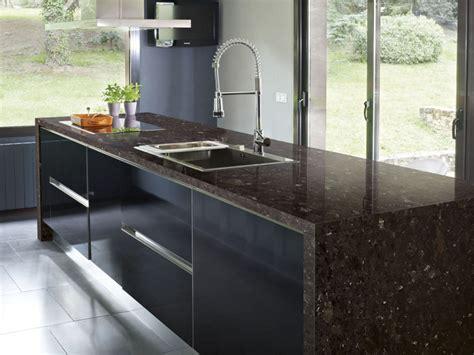 kunststein arbeitsplatte nachteile arbeitsplatte aus granit in der modernen k 252 che vor und