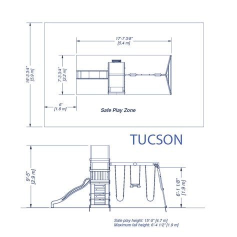 playground swing dimensions tucson wooden swing set playsets backyard discovery