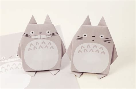 Paper Craft Square - papercraftsquare new paper craft origami totoro