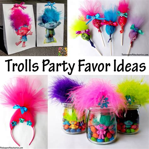 Diy Summer Decorations For Home by Trolls Party Favor Ideas