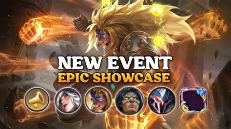 upcoming mobile legends event epic showcase  encore kof