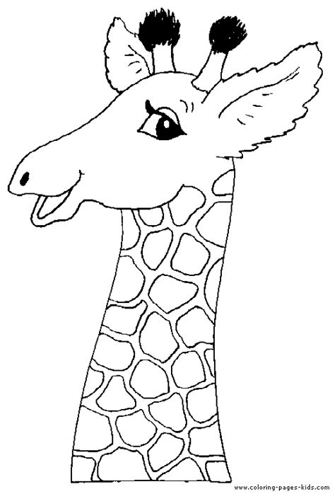 giraffes can t dance coloring pages head of a giraffe color page
