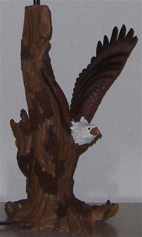table eagle fly table l eagle in flight quot driftwood quot 60 watt new ebay