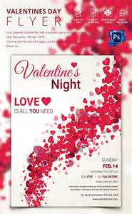 Templates For Valentines by 53 Fabulous Psd Flyer Templates Designs