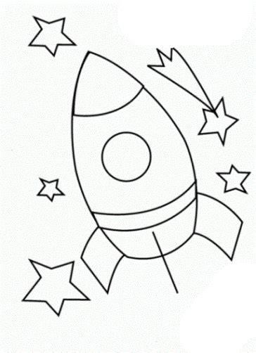 malvorlagen rakete ausdrucken  camisetas rakete