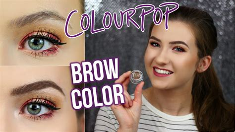 Colourpop Brow Colour Dope Taupe colourpop brow colour impression dope taupe