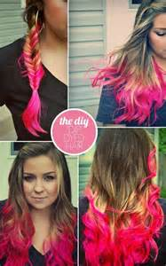 best diy hair color diy mechas de colores en el cabello con papel crepe