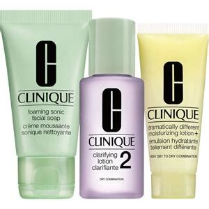 Clinique Trial Set 3 phasen systempflege 3 step trial kit clinique