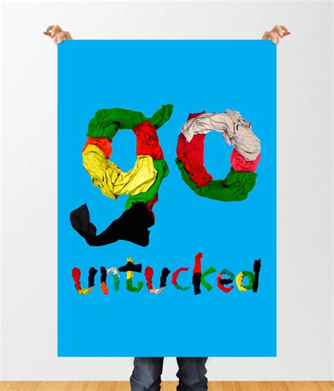 Untucked Typography go untucked tshirt type on pantone canvas gallery