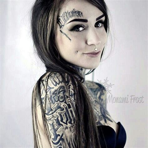 monami frost tattoos 17 best images about throat tattoos on on