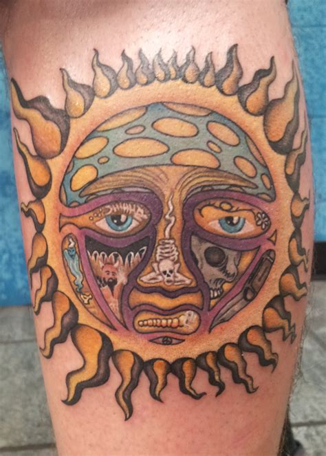 sublime tattoos color tattoos brandon quinn tattoos
