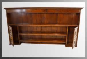 Oak Dresser Top by Large Oak Plate Rack Dresser Top Antiques Atlas