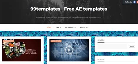 after effects free templates sites find after effects intro templates using these 10 sites
