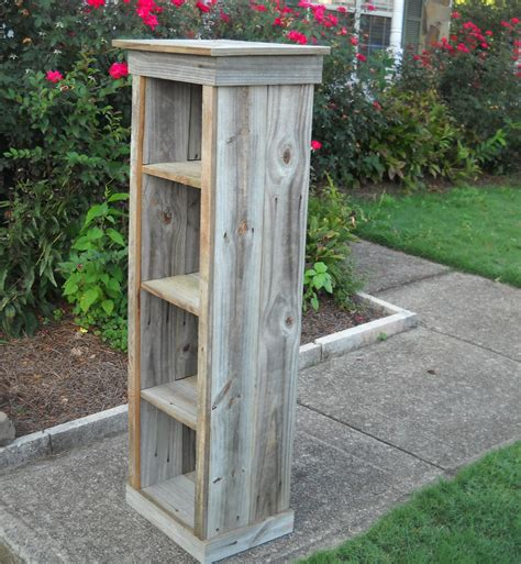 bookcase barnwood bookcase reclaimed wood bookcase