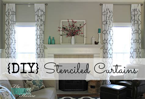 how high to hang curtains 9 foot ceiling diy white gold moroccan stenciled table for the love