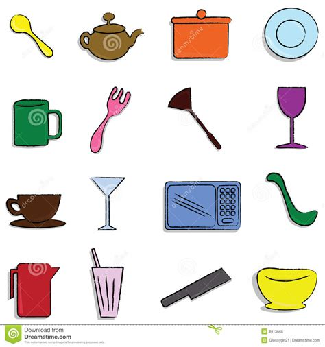 Kitchen Giveaways - kitchen items royalty free stock photos image 8913668