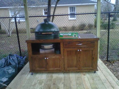 big green egg tables blueprints big green egg table blueprints my table big green
