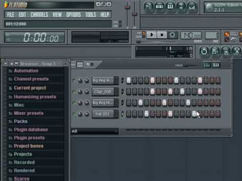 drum pattern fruity loops how to create 4x4 garage bassline drums in fl studio youtube