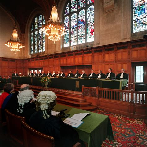 justice the international criminal court in a world of power politics books file hearing at the icj jpg