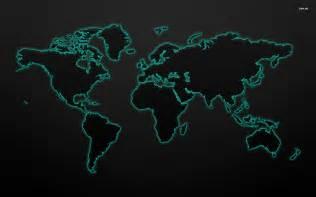 World Map Background by Pics Photos World Map Black Wallpaper Desktop