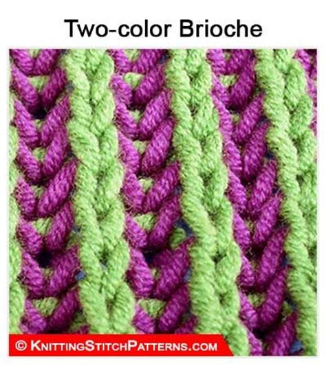 brioche knitting 2 color 379 b 228 sta bilderna om knitting stitch patterns p 229