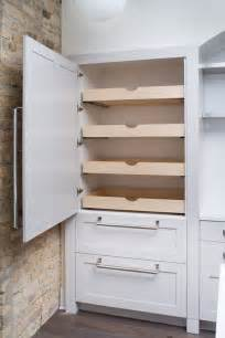 Kitchen Cabinet Shelves by How To Build Pull Out Pantry Shelves Diy Projects For