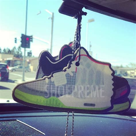 Yeezy Car Air Freshener Nike Air Yeezy 2 Air Fresheners By Shoepreme Sneakernews