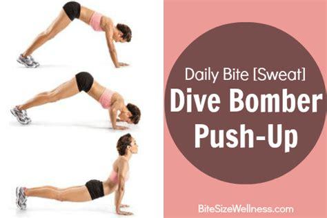 dive bomber push up daily bite sweat dive bomber push up dash of wellness