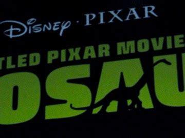film cinta dinosaurus la pel 237 cula de pixar sobre dinosaurios sin t 237 tulo ya