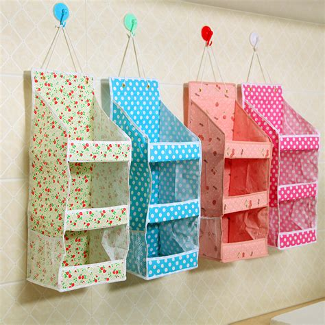 Wall Clothes Organizer Waterproof Thicker Non Woven Fabric 3 Layers Clothes
