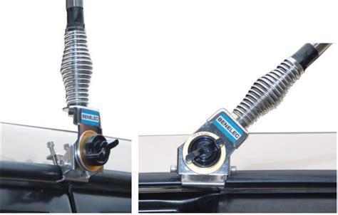 fold  gutter antenna bracket