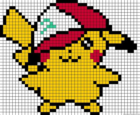 pikachu perler bead template 1000 images about โปเกม อน on pikachu