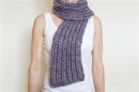 knitting pattern for scarf in chunky wool 11 chunky knit scarf patterns to knit this weekend
