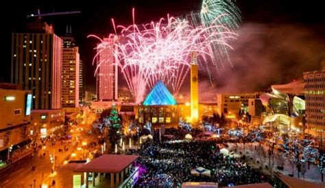 top cities in canada for 2018 new years eve celebration