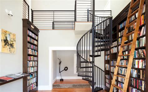 library near home ideas para decorar y ubicar la biblioteca
