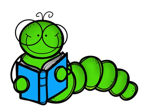 Worm clipart literacy   Pencil and in color worm clipart