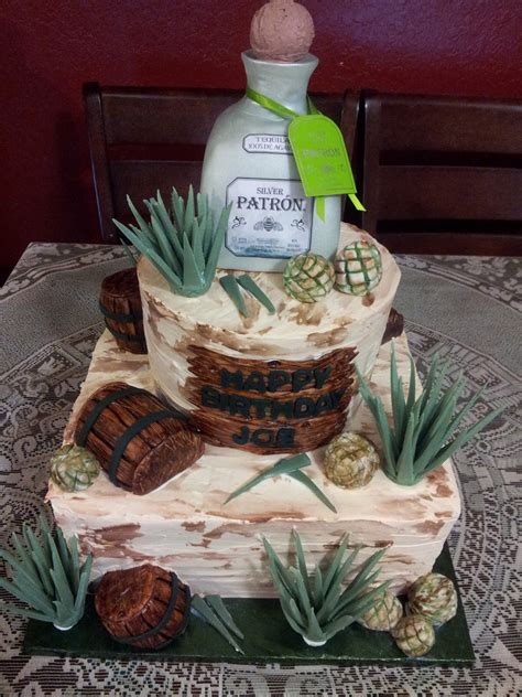 birthday tequila patron tequila cake cakecentral com