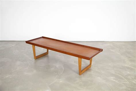 Oak Coffee Tables For Sale Teak And Oak Coffee Table By B 248 Rge Mogensen For Sale At 1stdibs