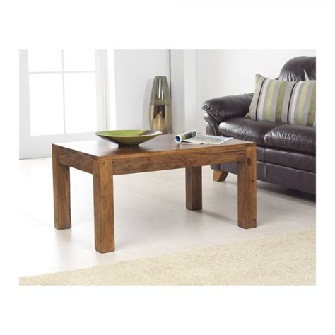 rustic modern large coffee table sheesham wood bedroon and