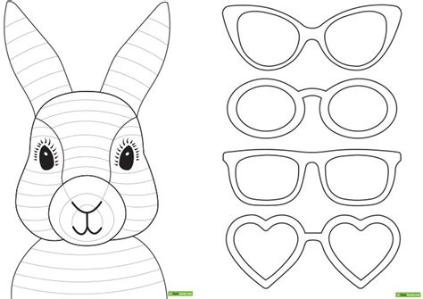 Easter Picture Templates by Easter Bunny Template Bunny Rabbit