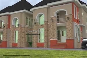 house designs and floor plans in nigeria 2 bedroom twin duplex