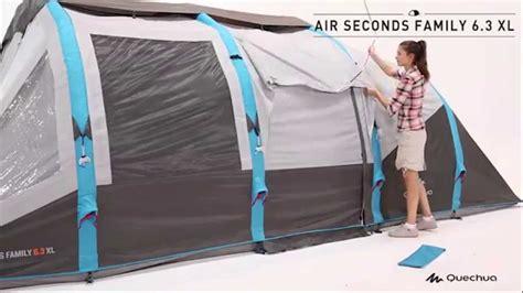 tenda t6 2 xl air 6 posti quechua tenda air seconds family 6 3 xl