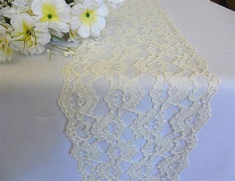 ivory lace table runner ivory lace table runner wedding lace runner ivory