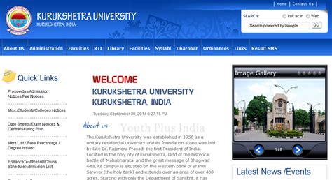Mba After M From Kuk by Results Archives Youth Plus India