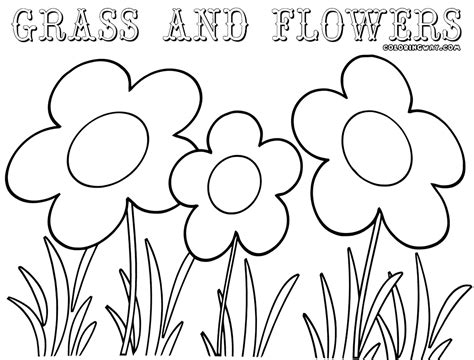 grass coloring pages coloring pages    print