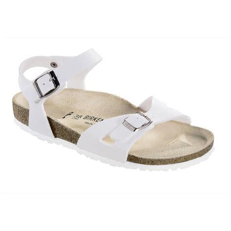 birkenstock white sandals birkenstock sandals birko flor regular or narrow