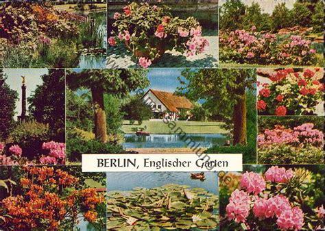 Garten 50er by Historische Ansichtskarten Berlin Tiergarten Partie Im