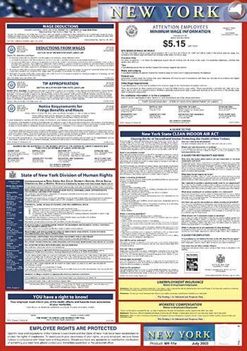 new york public health law section 18 labor law compliance posters for every state state only